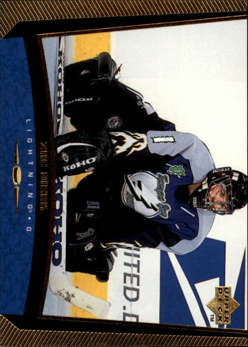 1998-99 Upper Deck Gold Reserve #181 Zac Bierk RC
