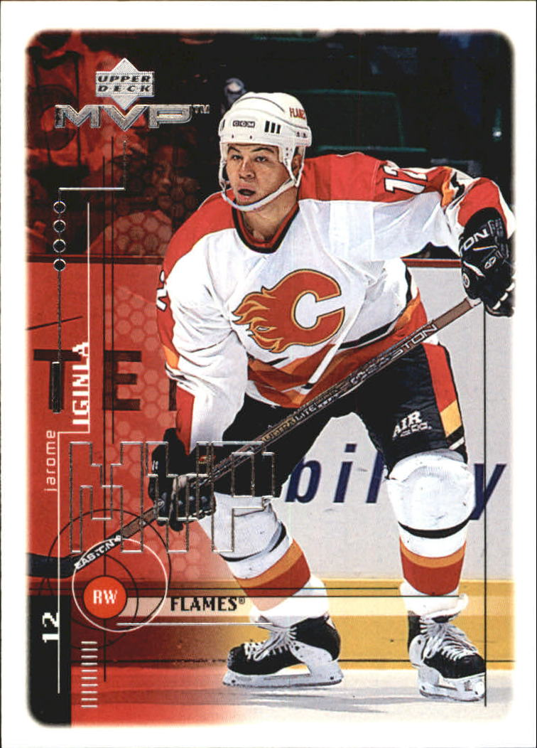 1998-99 Upper Deck MVP #34 Jarome Iginla