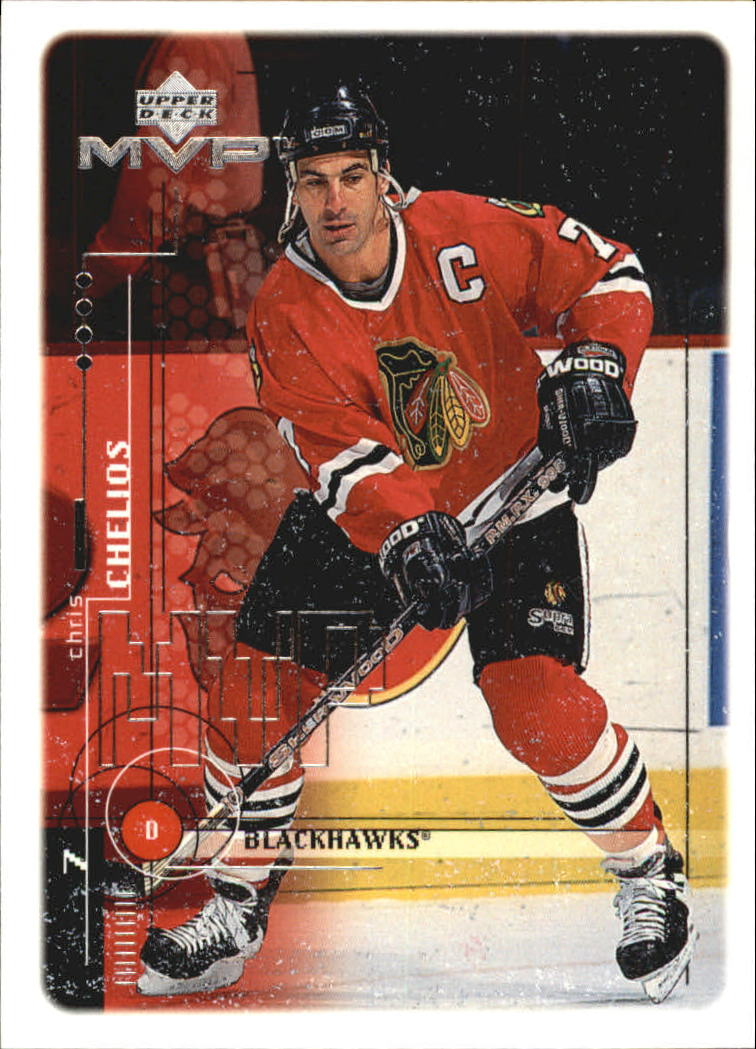 1998-99 Upper Deck MVP #44 Chris Chelios