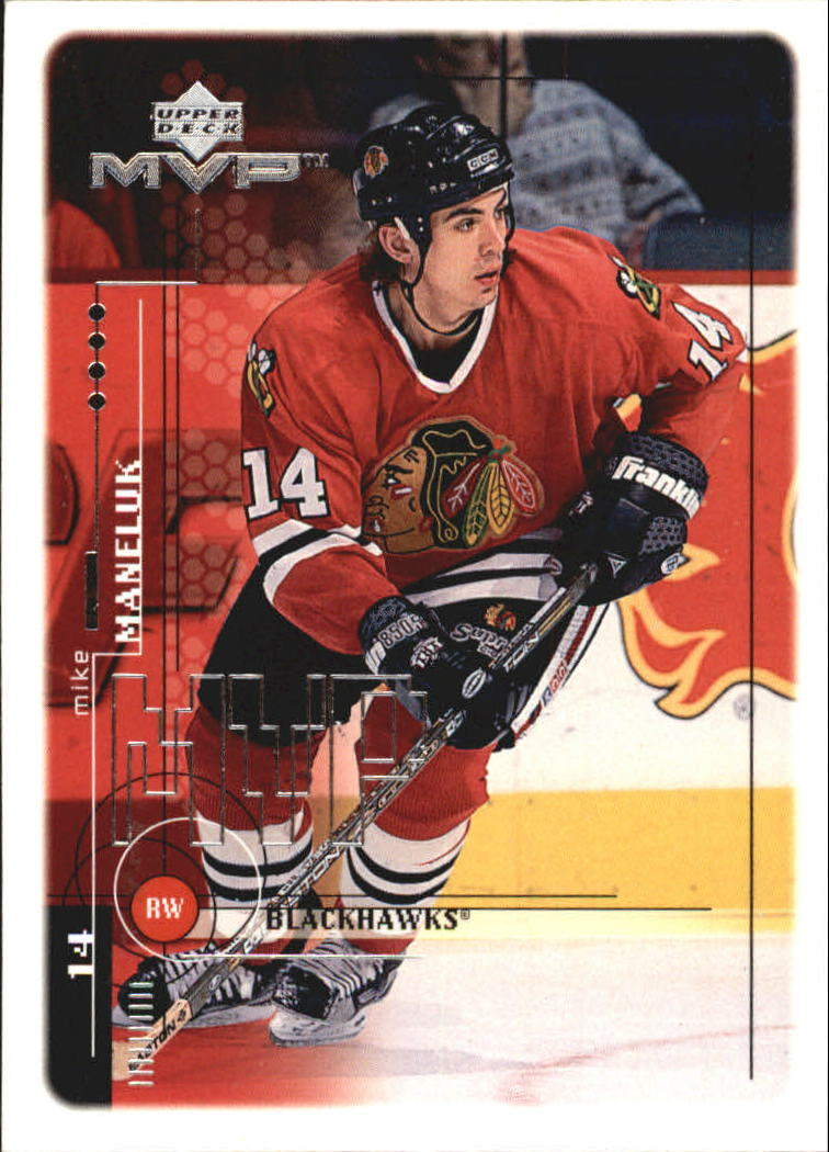 1998-99 Upper Deck MVP #49 Mike Maneluk RC