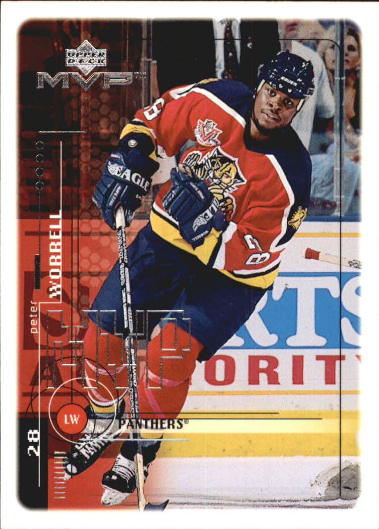 1998-99 Upper Deck MVP #90 Peter Worrell RC