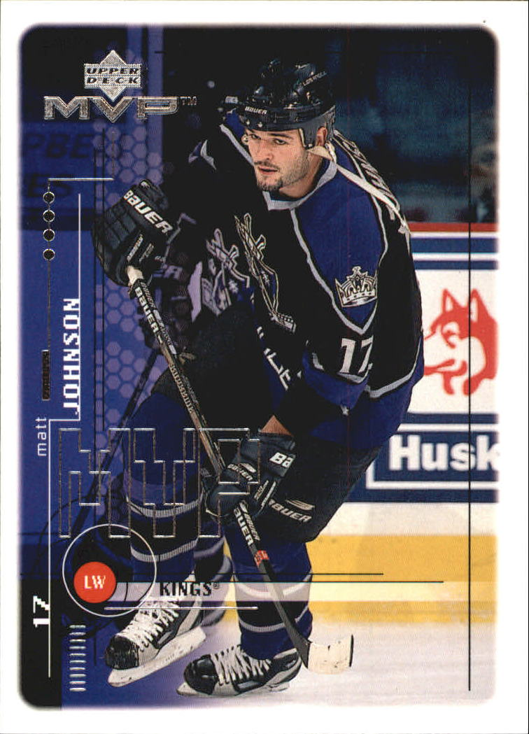 1998-99 Upper Deck MVP #100 Matt Johnson