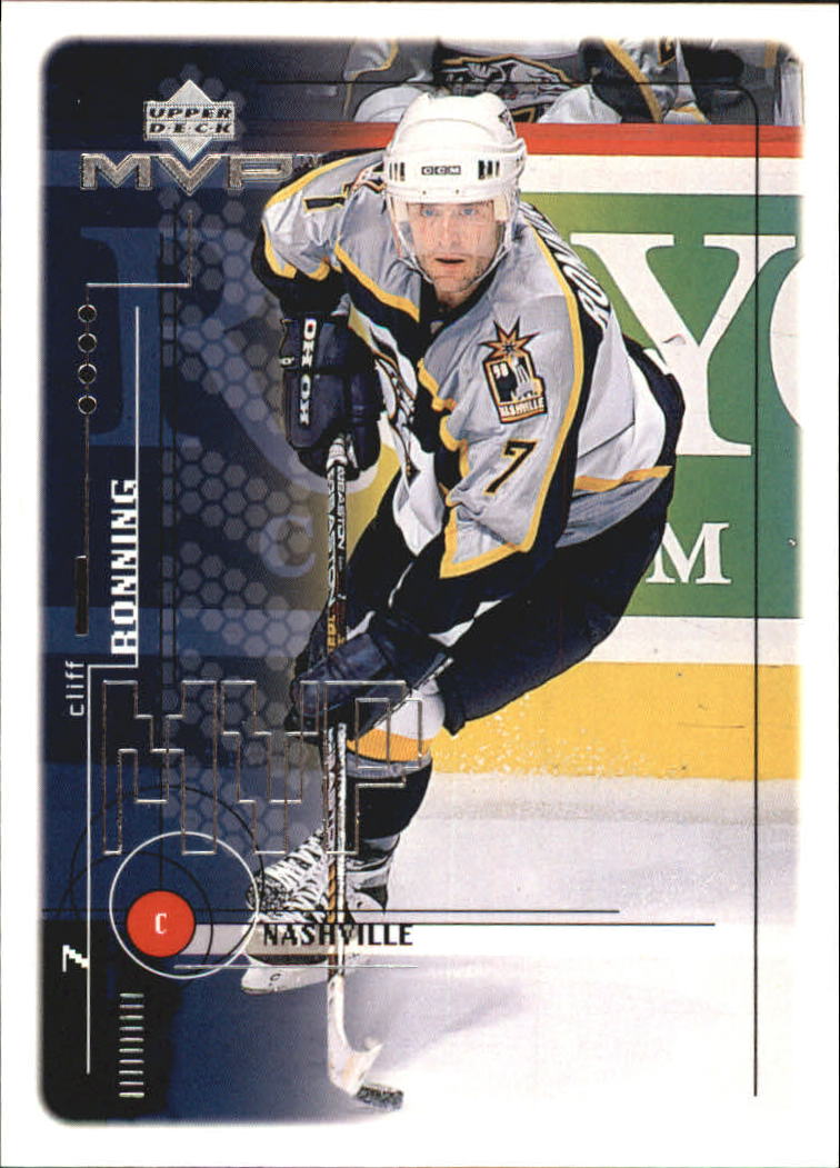 1998-99 Upper Deck MVP #112 Cliff Ronning