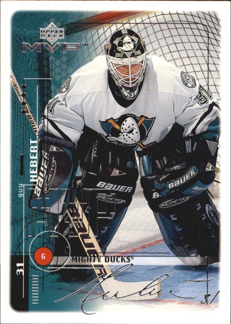 1998-99 Upper Deck MVP Silver Script #6 Guy Hebert