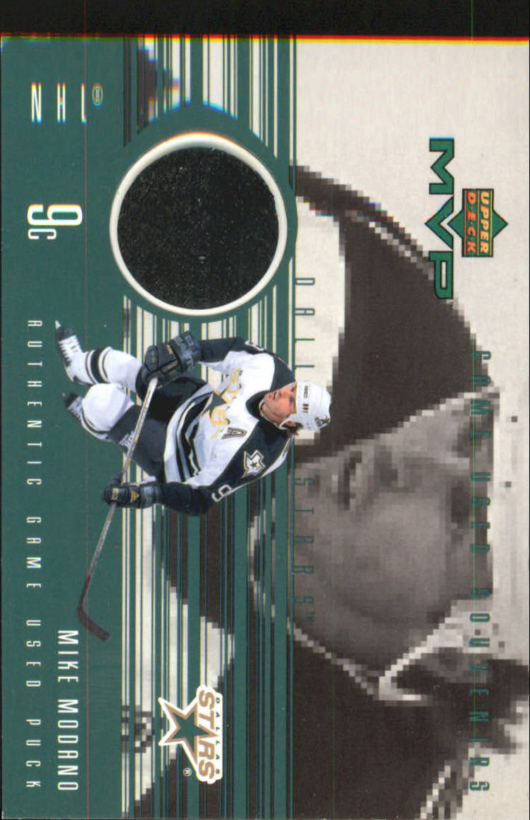 1998-99 Upper Deck MVP Game Souvenirs #MM Mike Modano