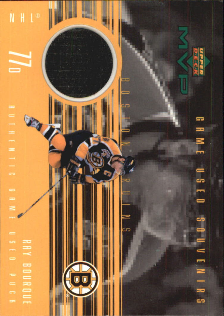 1998-99 Upper Deck MVP Game Souvenirs #RB Ray Bourque