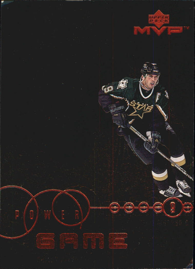 1998-99 Upper Deck MVP Power Game #PG4 Mike Modano