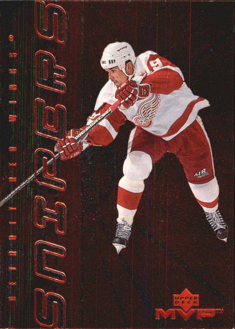 1998-99 Upper Deck MVP Snipers #S11 Steve Yzerman