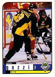 1998-99 Swedish UD Choice #12 Anders Gozzi