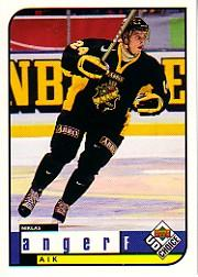 1998-99 Swedish UD Choice #15 Niklas Anger