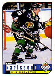1998-99 Swedish UD Choice #23 Robert Karlsson