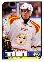 1998-99 Swedish UD Choice #41 Ove Molin