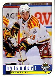 1998-99 Swedish UD Choice #43 Peter Nylander