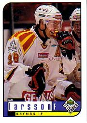 1998-99 Swedish UD Choice #44 Jan Larsson