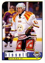 1998-99 Swedish UD Choice #46 Tom Bissett