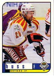 1998-99 Swedish UD Choice #47 Anders Huss