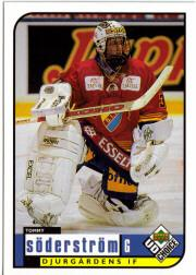 1998-99 Swedish UD Choice #49 Tommy Soderstrom