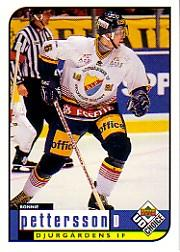 1998-99 Swedish UD Choice #51 Ronnie Pettersson