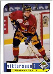 1998-99 Swedish UD Choice #62 Jan Viktorsson