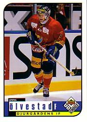 1998-99 Swedish UD Choice #65 Jimmie Olvestad