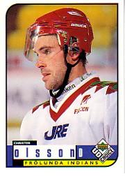 1998-99 Swedish UD Choice #67 Christer Olsson