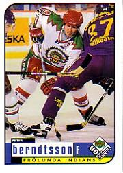 1998-99 Swedish UD Choice #77 Peter Berndtsson