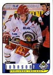 1998-99 Swedish UD Choice #82 Jonas Johnsson