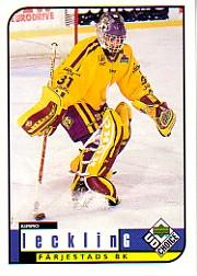 1998-99 Swedish UD Choice #83 Kimmo Lecklin