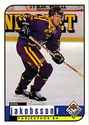 1998-99 Swedish UD Choice #88 Peter Jakobsson