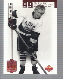 1999 Wayne Gretzky Living Legend #2 Wayne Gretzky Youth