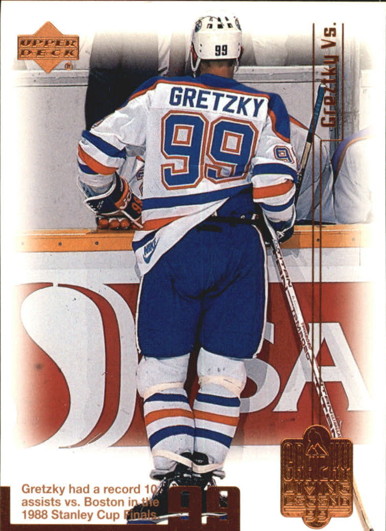 1999 Wayne Gretzky Living Legend #32 Wayne Gretzky Boston