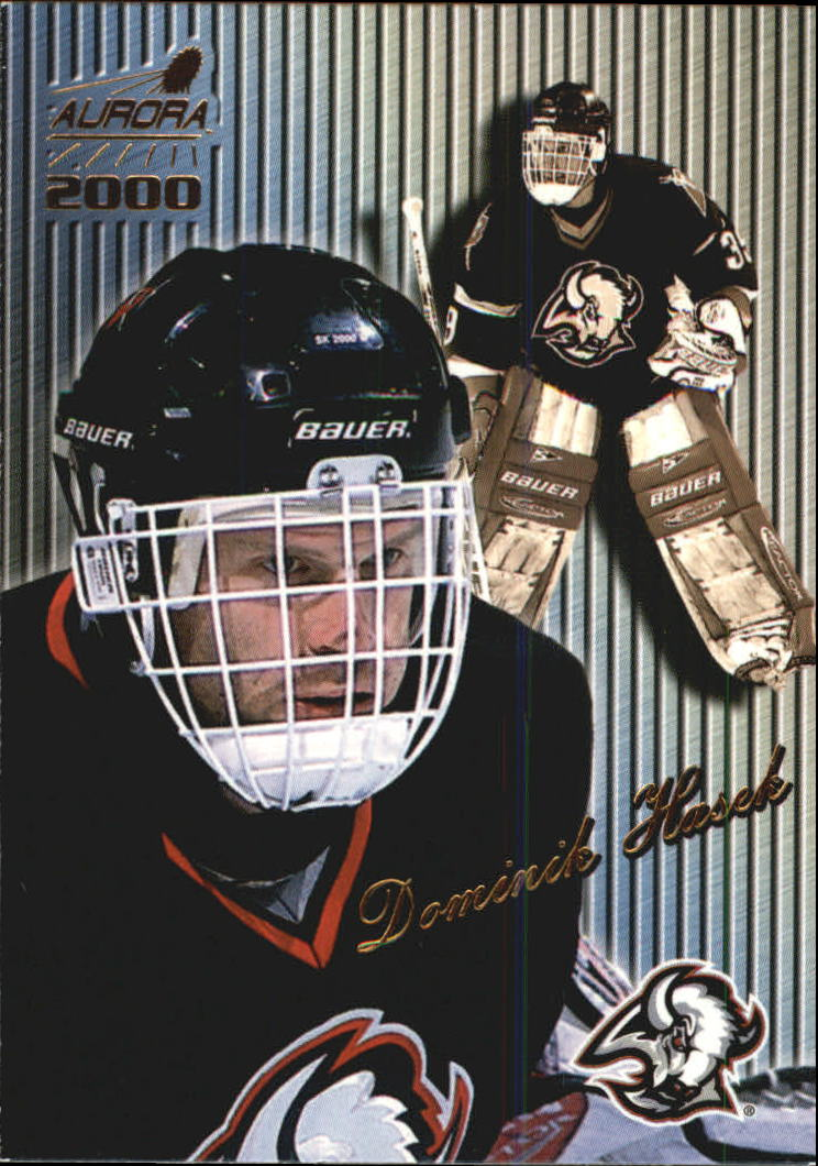 1999-00 Aurora Striped #16 Dominik Hasek