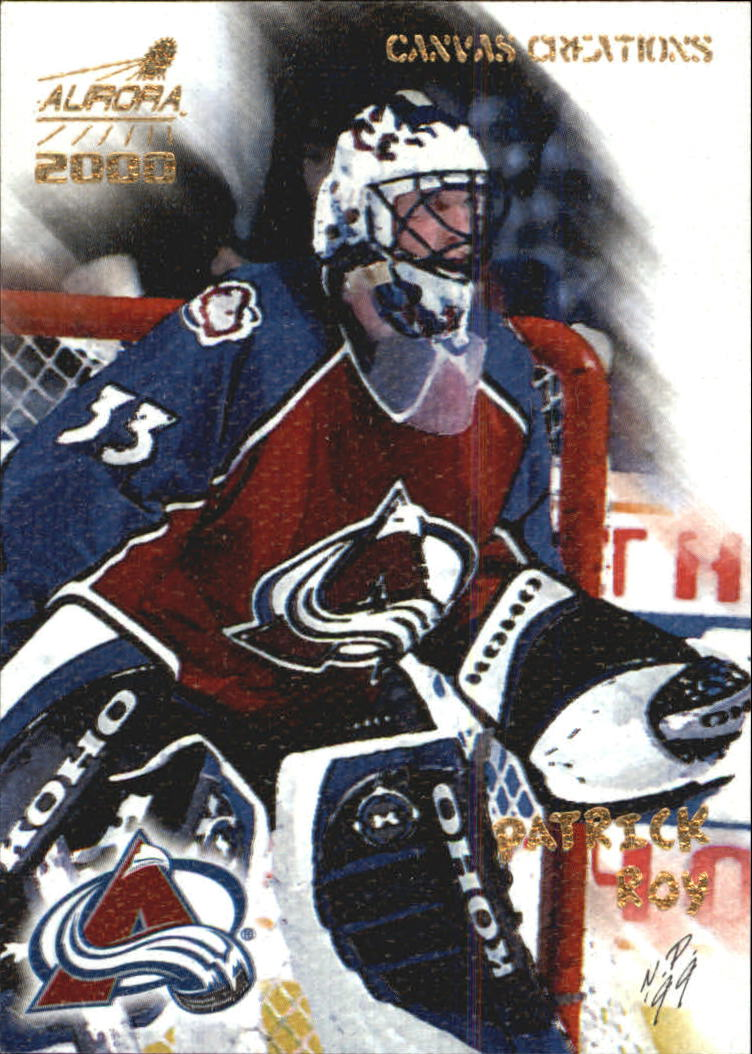 1999-00 Aurora Canvas Creations #5 Patrick Roy front image
