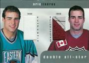 1999-00 BAP Update Double All Star Jerseys #D2 Eric Lindros