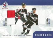 1999-00 BAP Update Teammates Jerseys #TM31 Jeremy Roenick/Scott Stevens