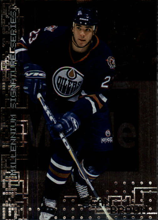 1999-00 BAP Millennium #101 Sean Brown