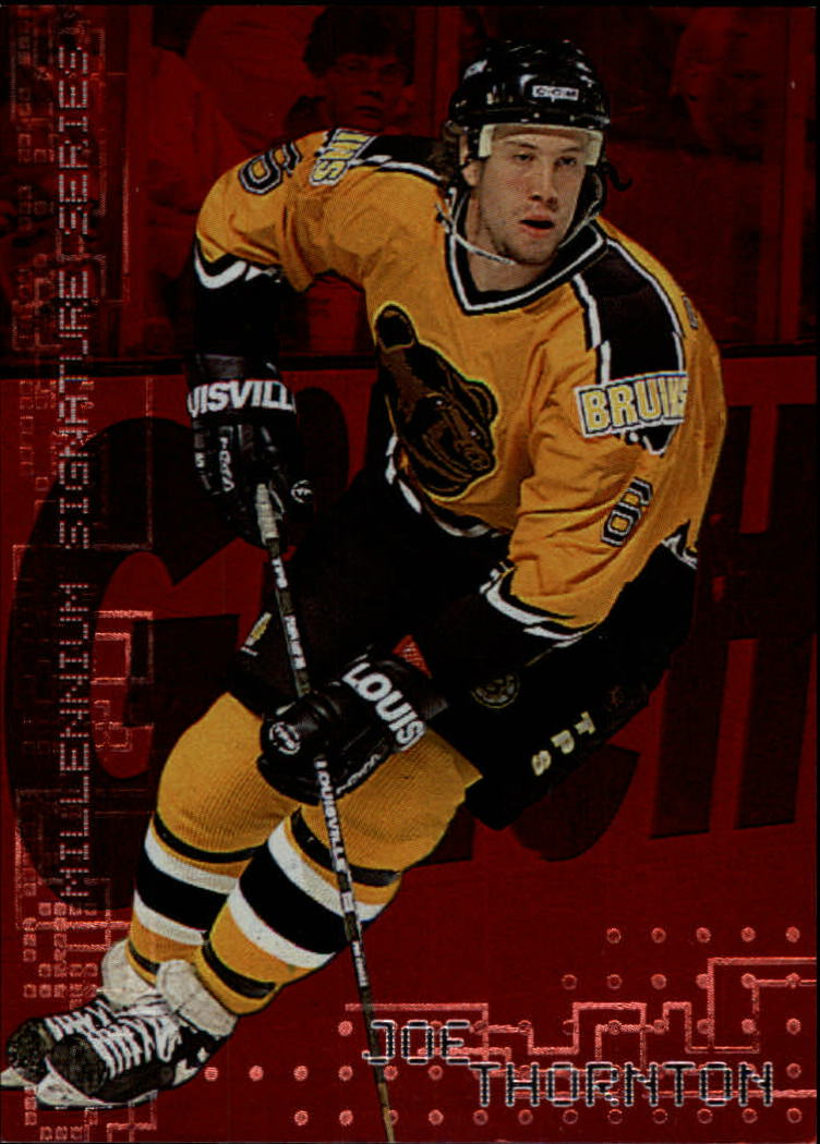 1999-00 BAP Millennium Ruby #24 Joe Thornton