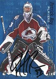 1999-00 BAP Millennium Players of the Decade Autographs #D3 Patrick Roy
