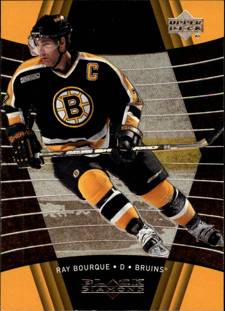 1999-00 Black Diamond #9 Ray Bourque