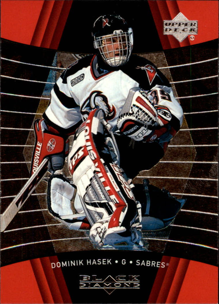 1999-00 Black Diamond #11 Dominik Hasek
