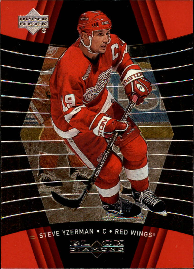 1999-00 Black Diamond #36 Steve Yzerman