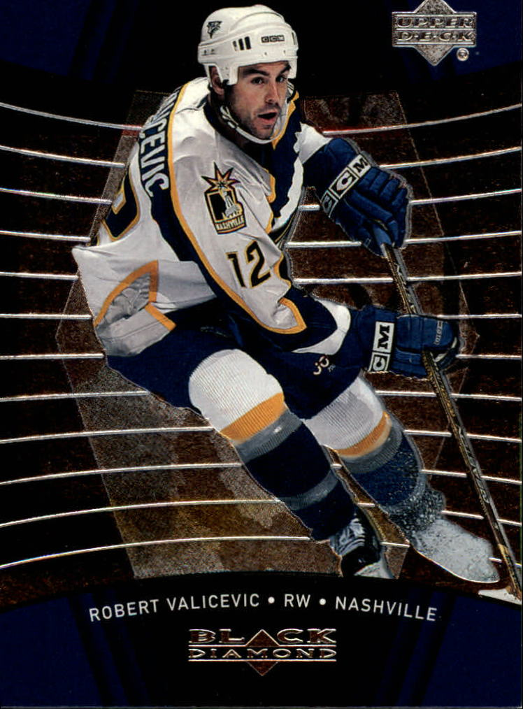 1999-00 Black Diamond #50 Rob Valicevic RC