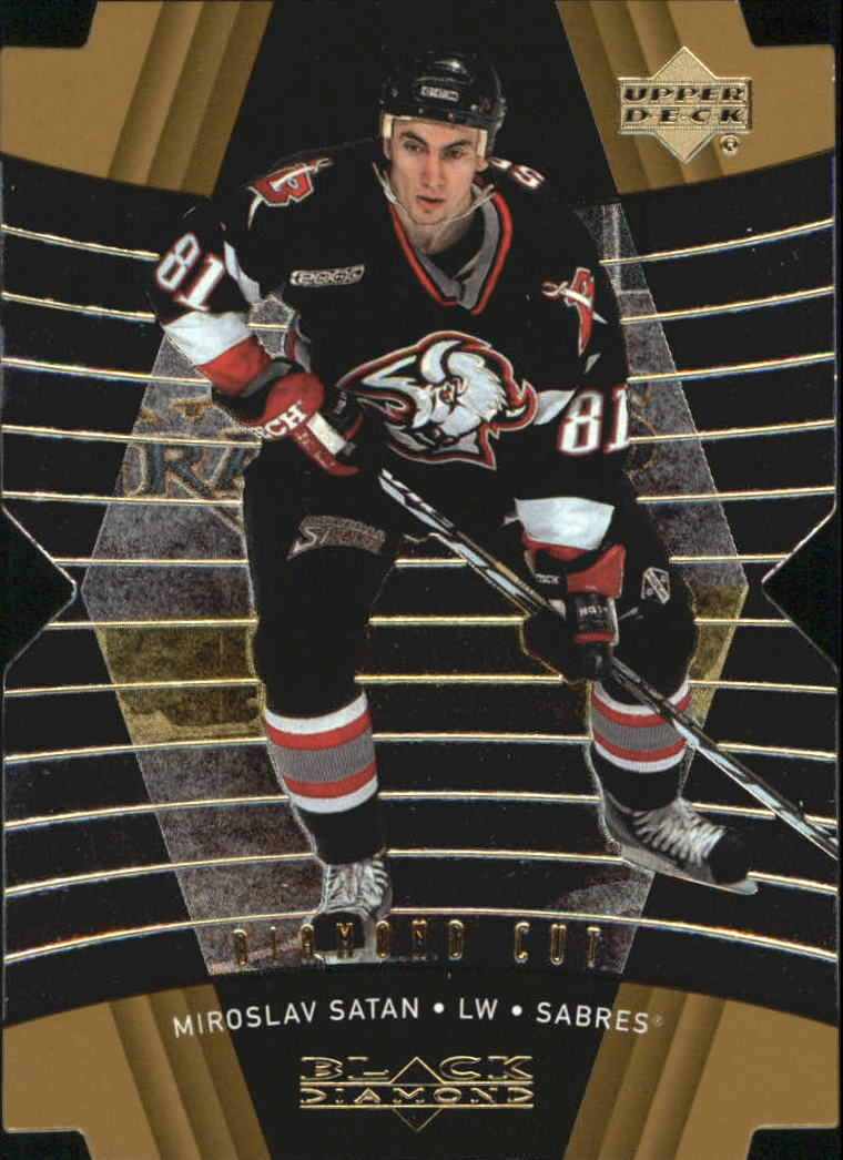 1999-00 Black Diamond Diamond Cut #13 Miroslav Satan
