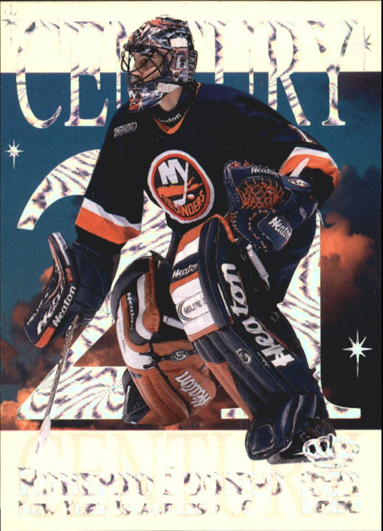 1999-00 Crown Royale Century 21 #7 Roberto Luongo