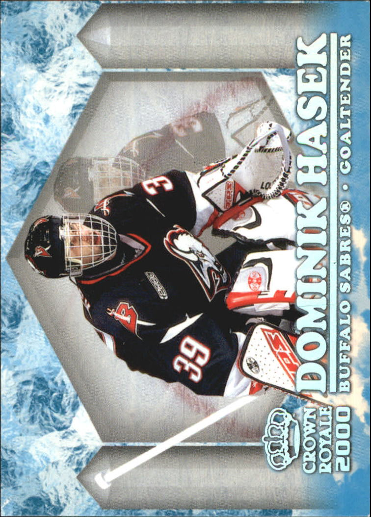 1999-00 Crown Royale Ice Elite #4 Dominik Hasek