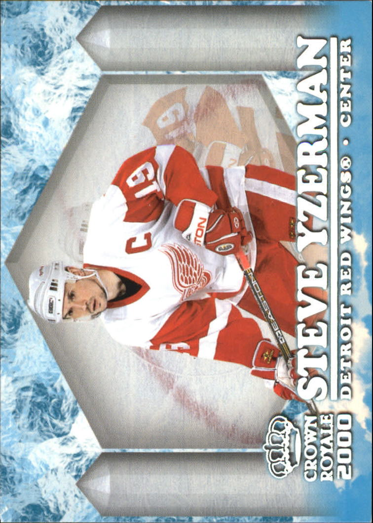 1999-00 Crown Royale Ice Elite #12 Steve Yzerman