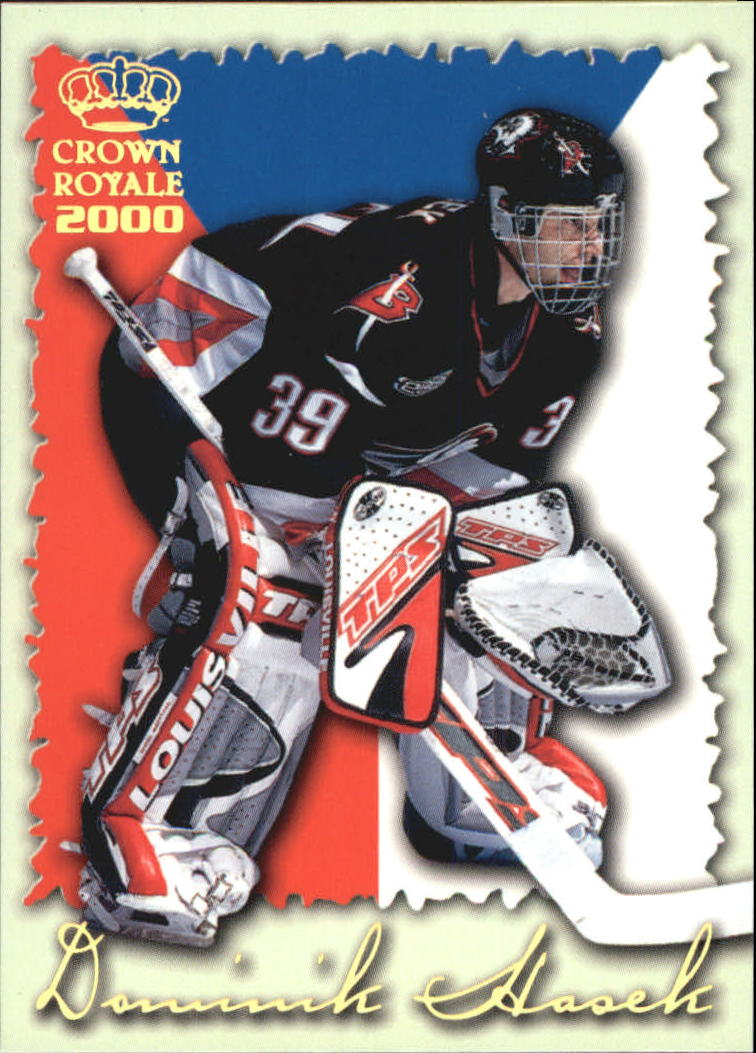 1999-00 Crown Royale International Glory #3 Dominik Hasek