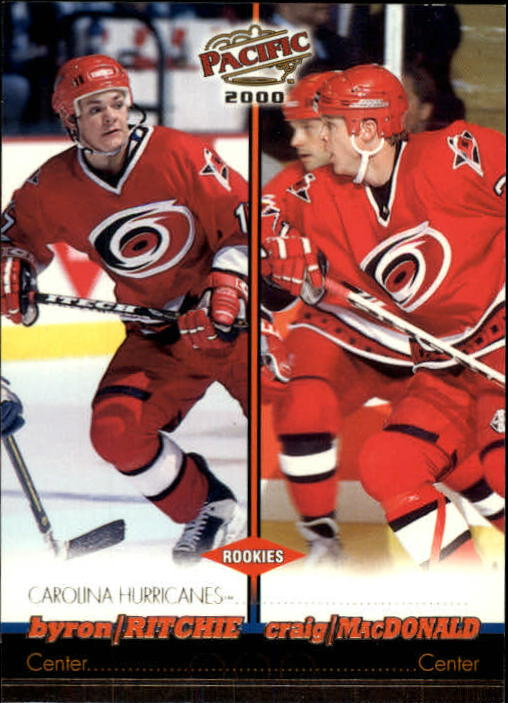 1999-00 Pacific #83 Byron Ritchie RC/Craig MacDonald