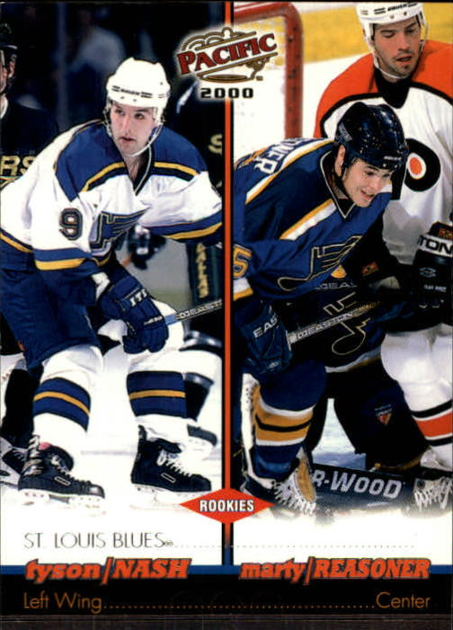 1999-00 Pacific #368 Tyson Nash RC/Marty Reasoner