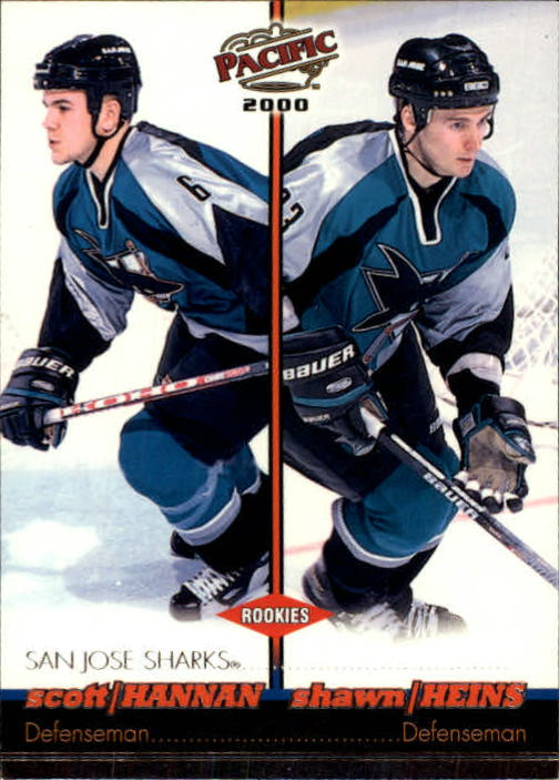 1999-00 Pacific #385 Scott Hannan RC/Shawn Heins